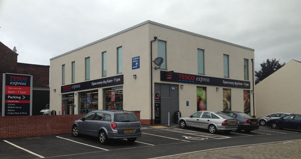 MSTONE Build completes £350,000 Tesco Express in Heywood