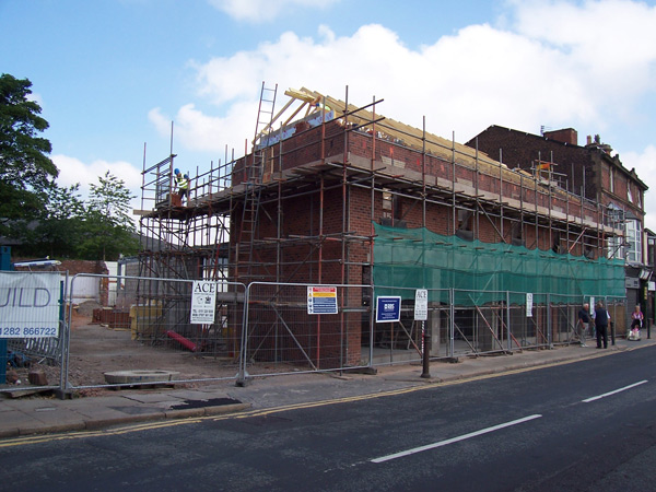 MSTONE Build close to completing £400,000 project in Liverpool conservation area